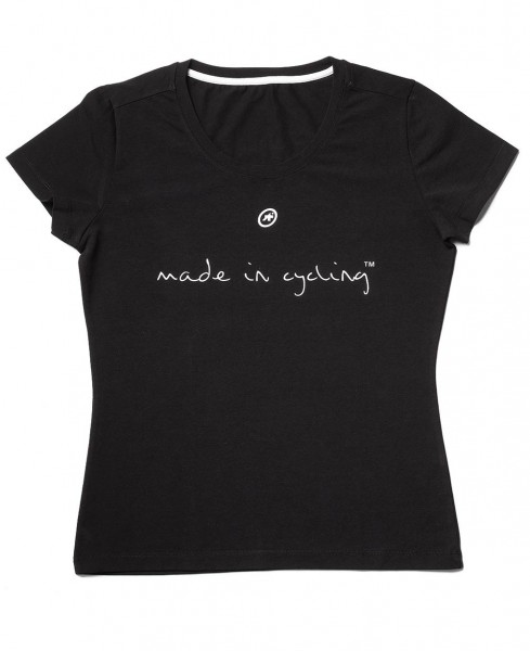 "ASSOS T-Shirt ""Made in Cycling"" SS Lady schwarz"
